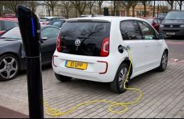 Volkswagen e-up!, charging