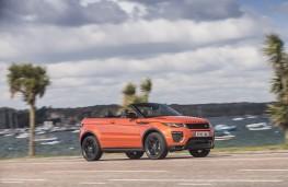 Range Rover Evoque Convertible, 2016, side