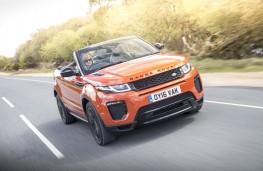 Range Rover Evoque Convertible, 2016, front, action