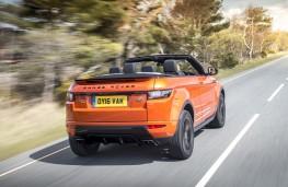 Range Rover Evoque Convertible, 2016, rear