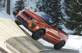 Range Rover Evoque Convertible, side slope