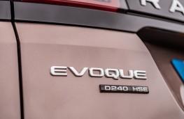 Range Rover Evoque, badge