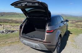Range Rover Evoque, boot