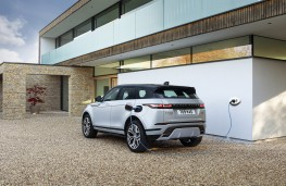 Range Rover Evoque PHEV, 2020, rear, charging