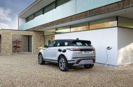 Range Rover Evoque PHEV, 2020, rear, charging