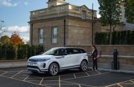 Range Rover Evoque PHEV, 2020, charging