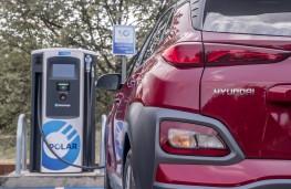 Hyundai Kona Electric, 2018, charging point