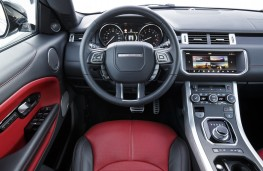 Range Rover Evoque Convertible, dashboard