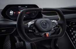 Lotus Evija, 2019, dashboard