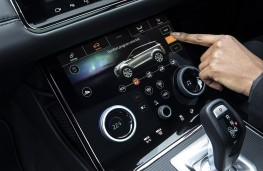 Range Rover Evoque PHEV, 2020, display screen