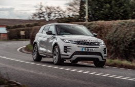 Range Rover Evoque, 2019, front, action