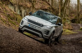 Range Rover Evoque, 2019, front, off road