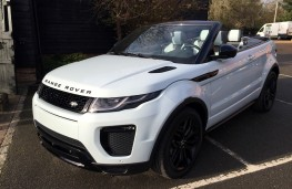 Range Rover Evoque Ember special edition, front