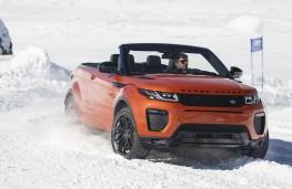 Range Rover Evoque Convertible, front, action