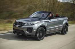 Range Rover Evoque Convertible, front, action