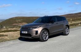 Range Rover Evoque, front
