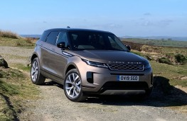 Range Rover Evoque, front, off road