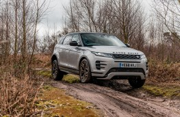 Range Rover Evoque, 2019, front, off road, static
