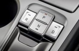 Hyundai Kona Electric, 2018, gear change buttons