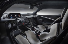 Lotus Evija, 2019, interior