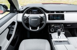 Range Rover Evoque Ember special edition, front seats