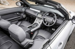 Range Rover Evoque Convertible, interior