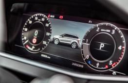 Range Rover Evoque, instrument panel