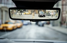 Range Rover Evoque, 2019, rear view mirror camera