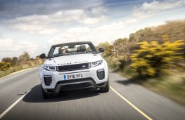 Range Rover Evoque Convertible, head on