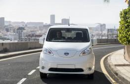 Nissan e-NV200, 2019, nose