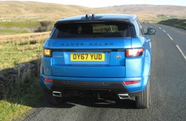 Range Rover Evoque Landmark, rear