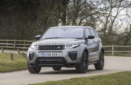Range Rover Evoque HSE Dynamic, front quarter