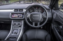 Range Rover Evoque HSE Dynamic, controls
