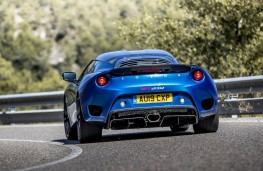 Lotus Evora GT 410 Sport, 2020, rear, action