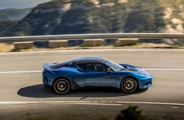 Lotus Evora GT 410 Sport, 2020, side, action