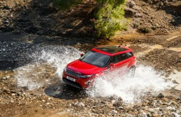Range Rover Evoque, 2019, off road, front