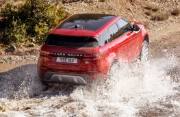 Range Rover Evoque, 2019, off road, rear