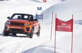 Range Rover Evoque Convertible, piste