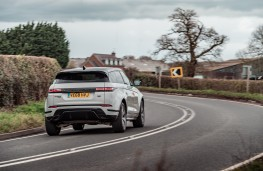 Range Rover Evoque, 2019, rear, action