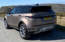 Range Rover Evoque, rear