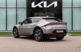 Kia EV6, 2021, rear