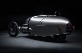 Morgan EV3, 2017, rear