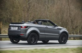Range Rover Evoque Convertible, rear, action
