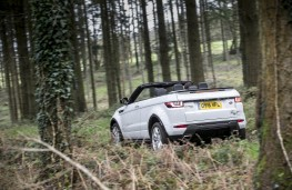 Range Rover Evoque Convertible, rear, off road