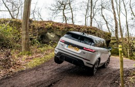 Range Rover Evoque, 2019, rear, off road