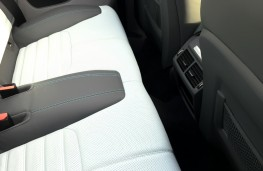 Range Rover Evoque Convertible, rear seats