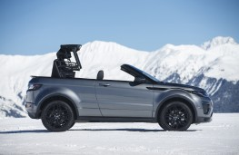 Range Rover Evoque Convertible, roof retraction