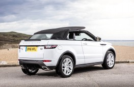 Range Rover Evoque Convertible, roof folding