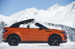 Range Rover Evoque Convertible, roof, folding