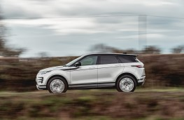 Range Rover Evoque, 2019, side, action